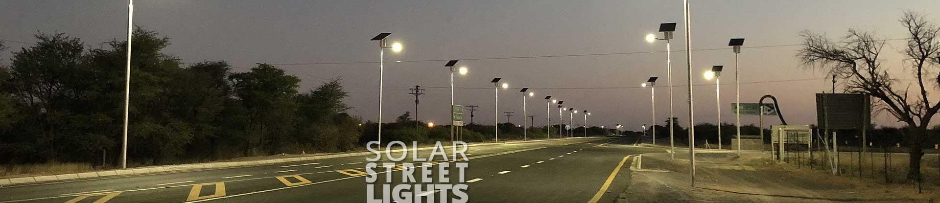 Solar Street Light System | Captain Polyplast Ltd.