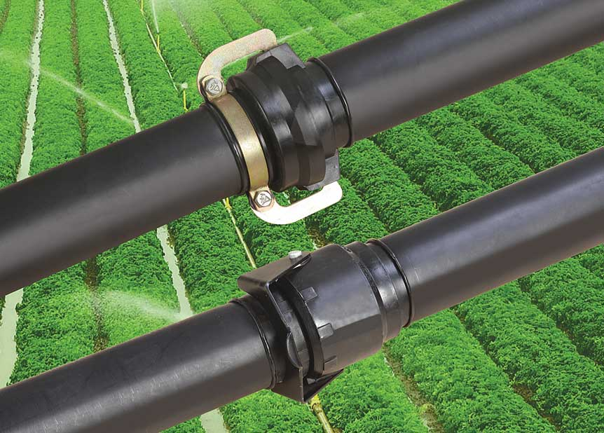 Sprinkler Irrigation System | Captain Polyplast Ltd.